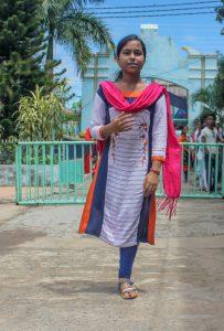 Student Nandini Pramanik