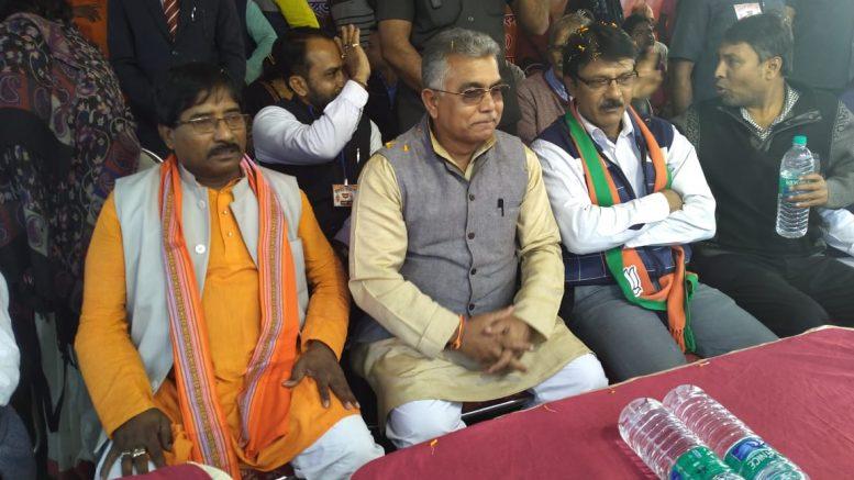 Dilip Ghosh in Debagram on Wednesday