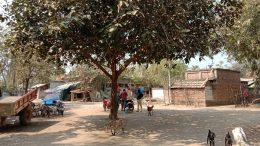 Choumaha villager where Tapas Paul spoke on June 2014