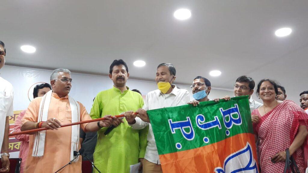 Gouri Sankar Dutta joining BJP in Kolkata on Wednesday